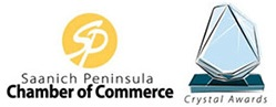 Saanich Peninsula Chamber of Commerce - Crystal Award